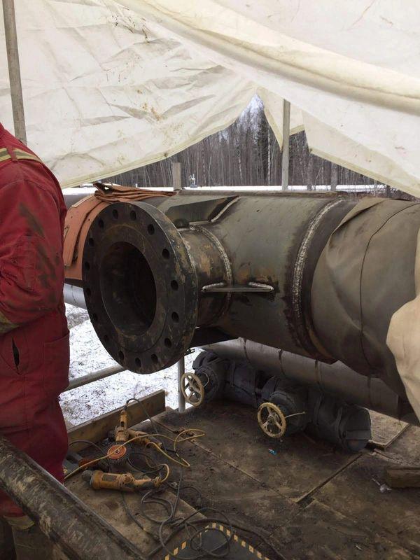 High Pressure pipe welding Ontario Pipe Welding