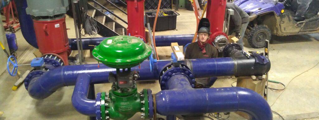 high pressure pipe welder barrie toronto ontario