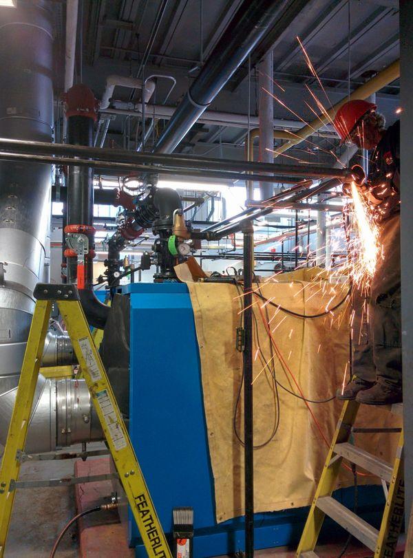 boiler installation, barrie ontario toronto gta welder welding