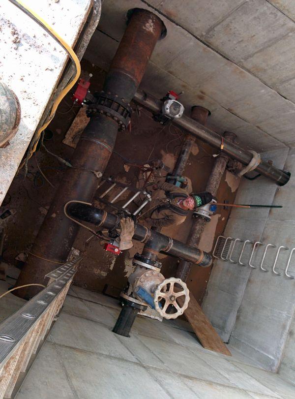 water pipe welder high pressure ontario ski Pipe Welding